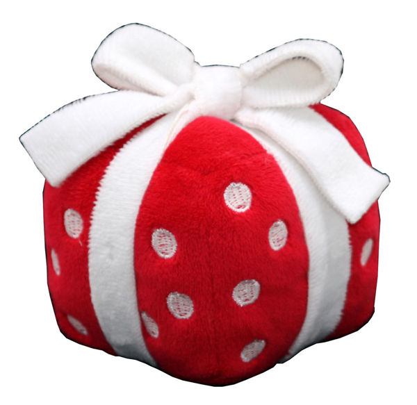 Picture of Plush Singing Gift Toy - Red Merry Christmas