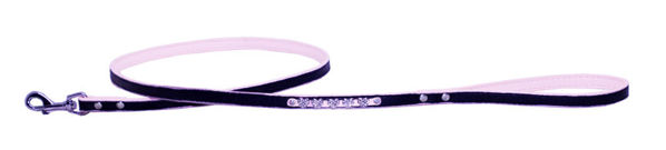 Picture of Pink Diamond Heart Matching Leash.