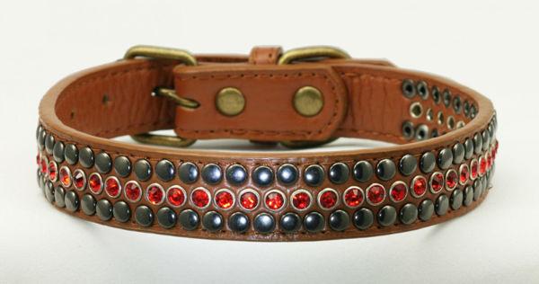 Picture of Red Diamond Winston Collar.