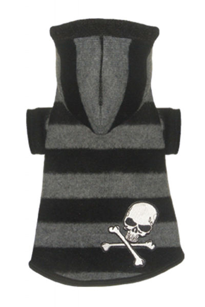 Picture of Super Soft Grey Skull Hoodie.