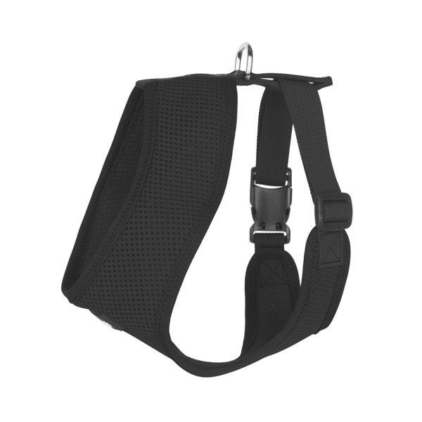 Picture of Ultra Comfort Black Mesh Harness Vest.