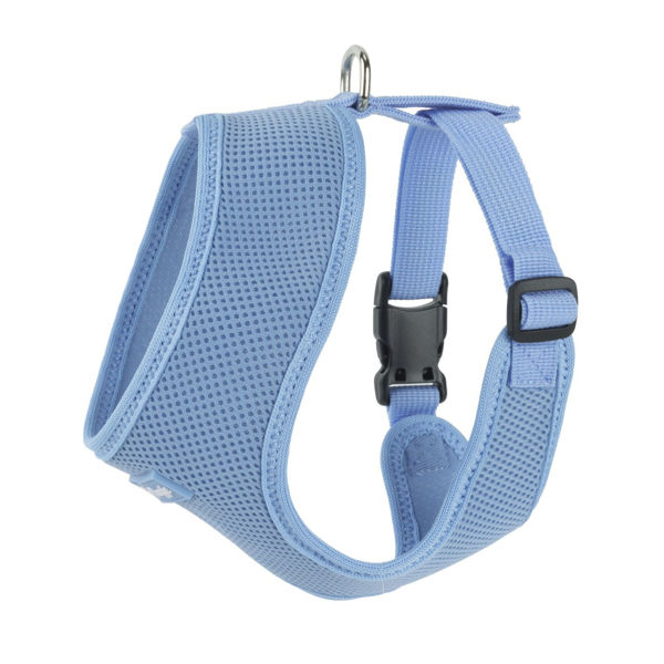Picture of Ultra Comfort Blue Mesh Harness Vest.