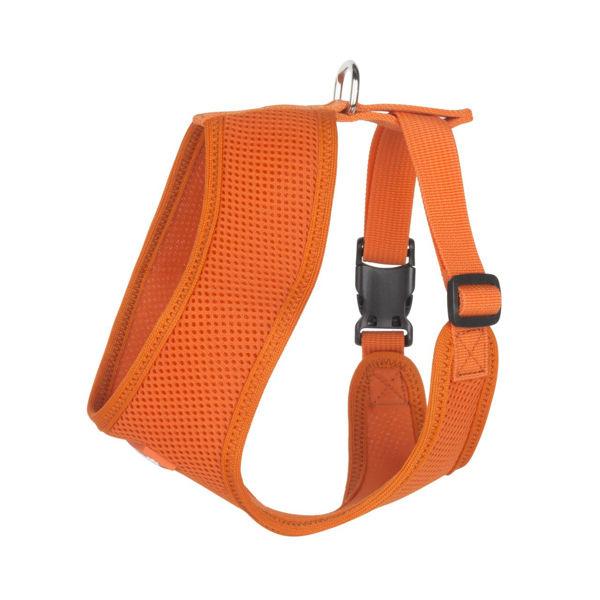 Picture of Ultra Comfort Orange Mesh Harness Vest.