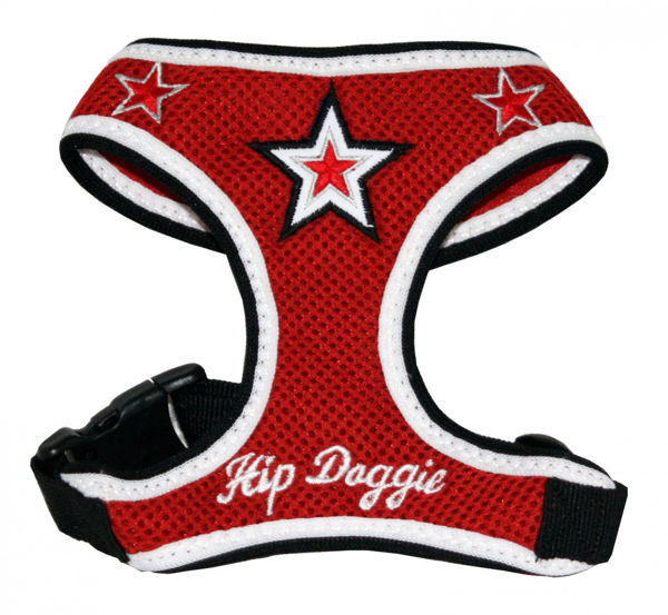 Picture of Super Star Mesh Harness Vest - Red.