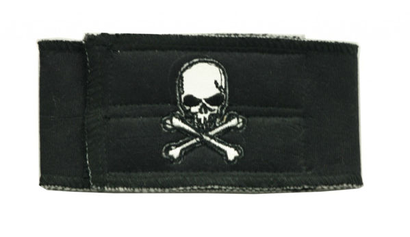Picture of Black Skull Belly Band.