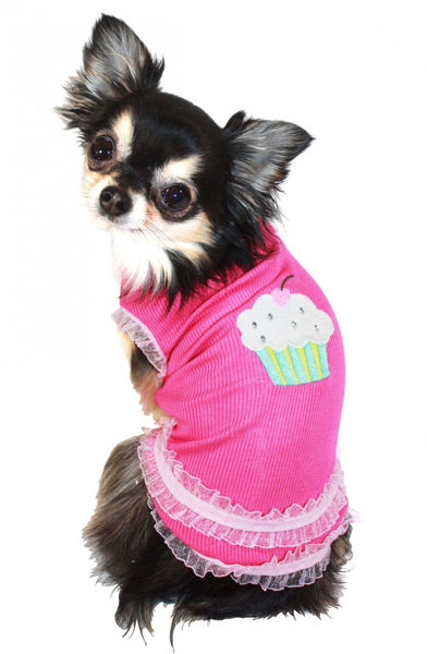 Picture of Strawberry Cupcake Tank.