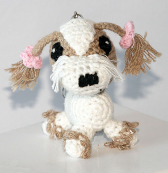 Picture of Dog Star Collectable Keychain - Shih-Tzu