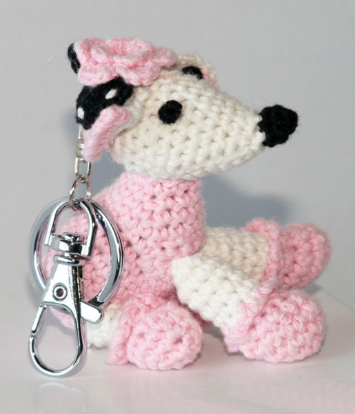 Picture of Dog Star Collectable Keychain - Poodle