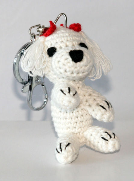 Picture of Dog Star Collectable Keychain - Maltese