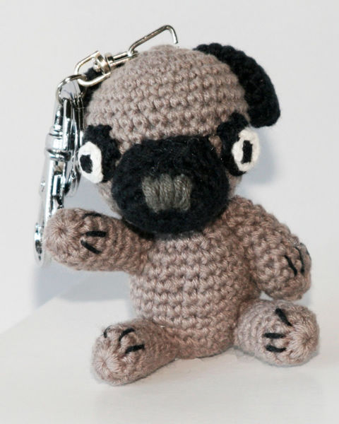 Picture of Dog Star Collectable Keychain - Pug