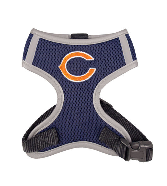 Picture of Chicago Bears Dog Harness Vest.