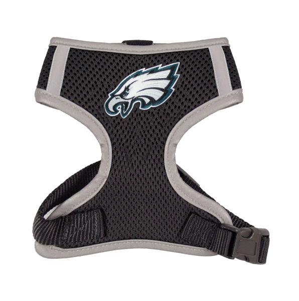 Picture of Philadelphia Eagles Dog Harness Vest.