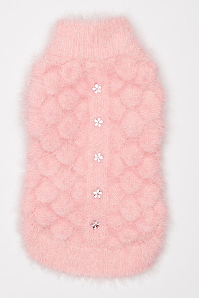 Picture of Mohair Blossom Sweater Pink