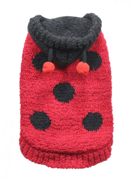 Picture of Lady Bug Chenille Hoodie