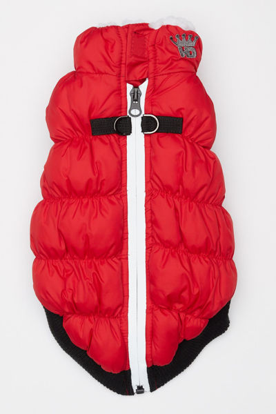 Picture of HD Crown Puffer Vest - Red.