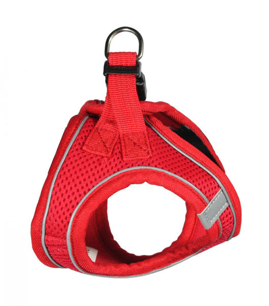 Picture of EZ Reflective Sports Mesh Harness Vest - Red.
