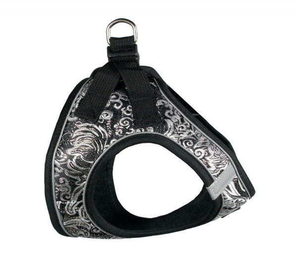 Picture of EZ Reflective Royal Elegance Harness Vest - Black.