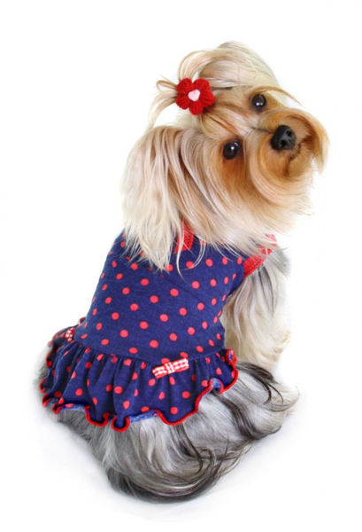 Picture of Betty Polka Dot Dress.