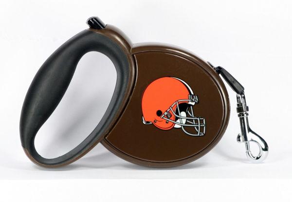 Picture of NFL Retractable Pet Leash - Browns