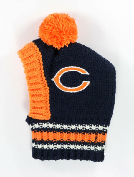 Picture of NFL Knit Pet Hat - Bears