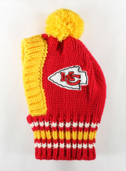 Picture of NFL Knit Pet Hat - Chiefs