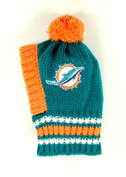 Picture of NFL Knit Pet Hat - Dolphins