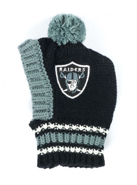 Picture of NFL Knit Pet Hat - Raiders