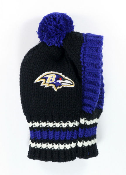 Picture of NFL Knit Pet Hat - Ravens