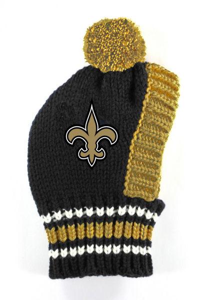 Picture of NFL Knit Pet Hat - Saints