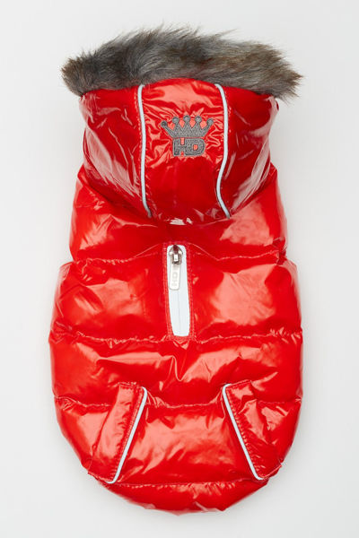Picture of Elite Reflective Coat - Red