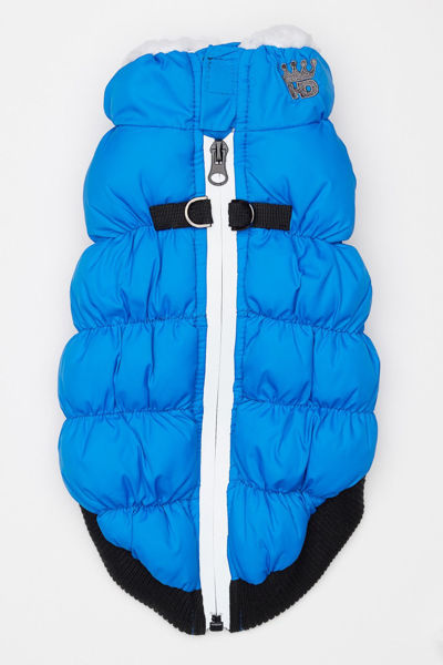 Picture of HD Crown Puffer Vest - Blue.
