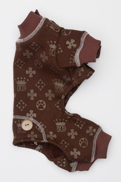 Picture of HD Crown Longjohns - Brown