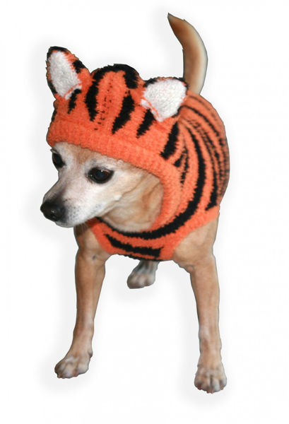 Picture of Tiger Chenille Hoodie