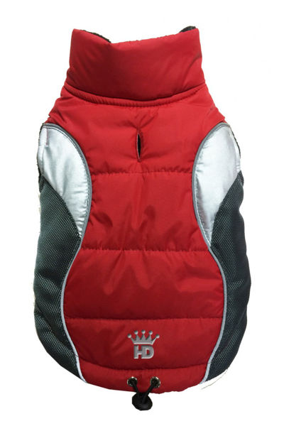 Picture of Wave Reflective Puffer Vest - RED