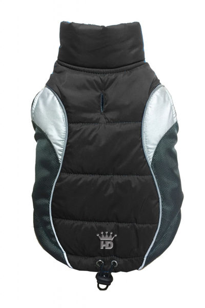Picture of Wave Reflective Puffer Vest - BLACK