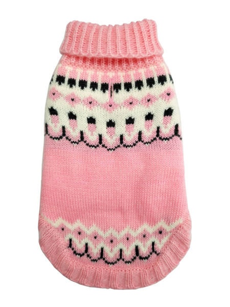 Picture of Icelandic Sweater - Pink