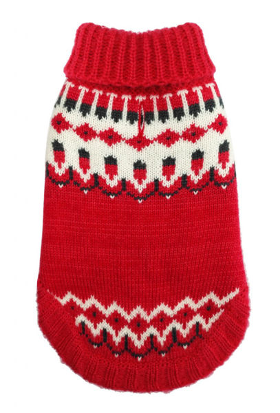 Picture of Icelandic Sweater - Red