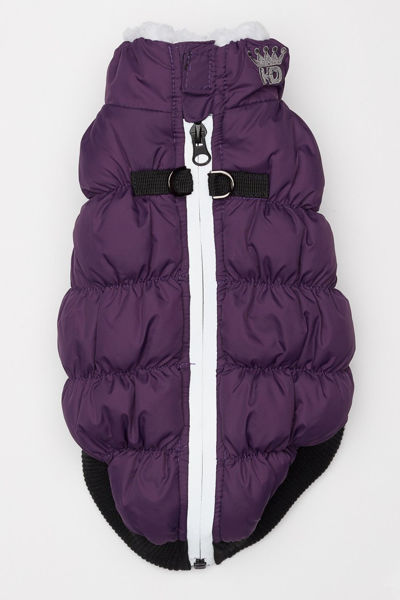 Picture of HD Crown Puffer Vest - Purple