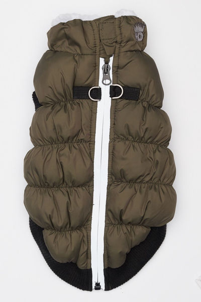 Picture of HD Crown Puffer Vest - Olive Green