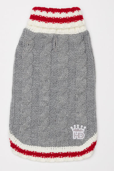 Picture of Cable Knit Sweater - Gray
