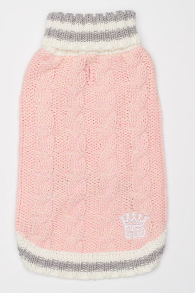 Picture of Cable Knit Sweater - Pink