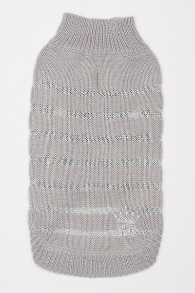 Picture of Metallic Stripe Sweater - Silver