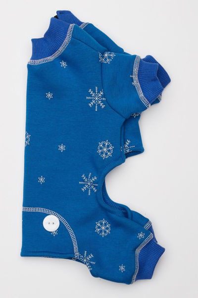 Picture of Snowflake Jumpers/LongJohns - Royal Blue