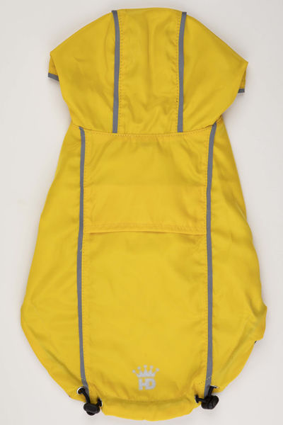 Picture of HD Reversible Rain Coat  Yellow/Plaid