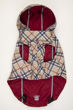 Picture of HD Reversible Rain Coat  Red/Plaid