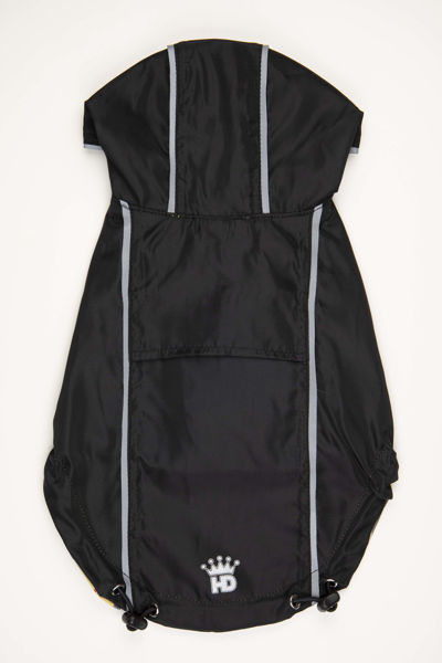 Picture of HD Reversible Rain Coat  Black/Plaid