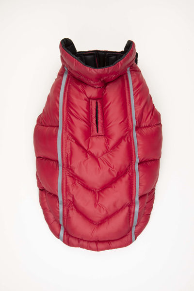 Picture of Featherlite Reversible-Reflective Puffer Vest Black/Red