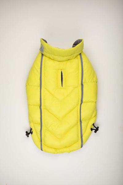 Picture of Featherlite Reversible-Reflective Puffer Vest Yellow/Grey
