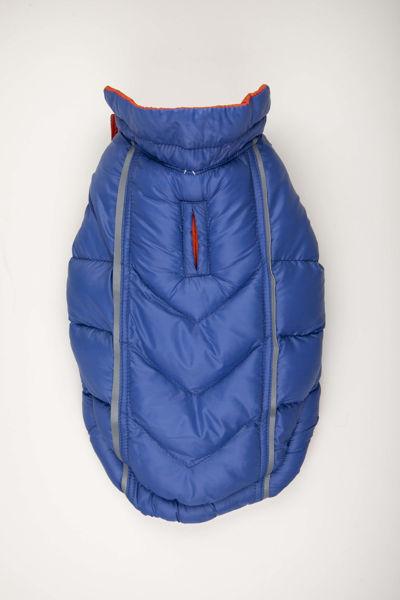 Picture of Featherlite Reversible-Reflective Puffer Vest Blue/Orange