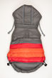 Picture of Soft Stripe Puffer Coat - GRAY